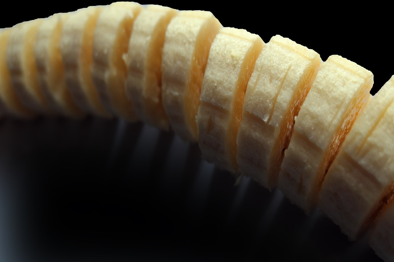 Banánový peeling