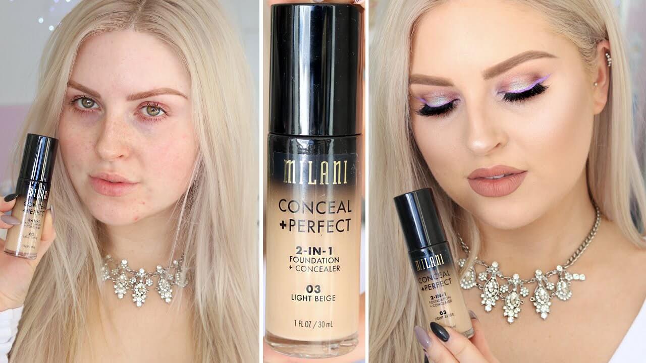 Makeup od Milani Cosmetics 2v1 na pleti