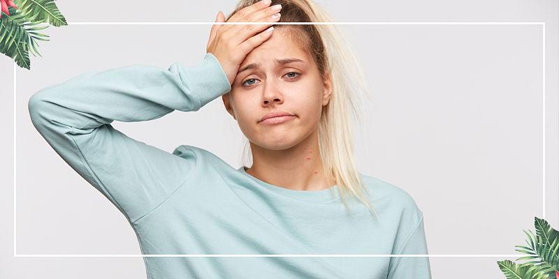 Trápia vás vyrážky na krku? Vieme, čo sa vám telo snaží povedať