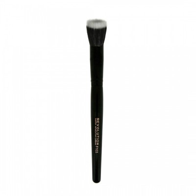 Makeup Revolution Štetec na ľahký makeup alebo korektor F103 Stippling Brush