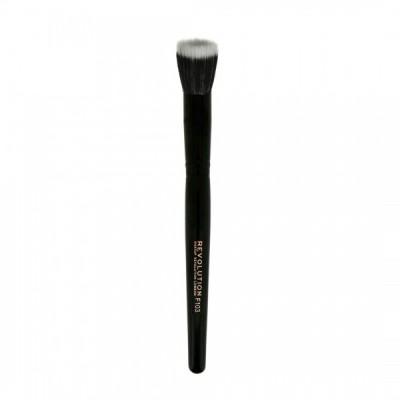 Makeup Revolution Štetec na ľahký makeup alebo korektor F103 Stippling Brush