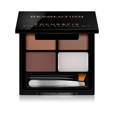 Makeup Revolution Sada na úpravu obočia Focus & Fix Brow Kit