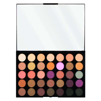 Makeup Revolution paleta očných tieňov Pro HD Palette Amplified 35 Neutrals Cool