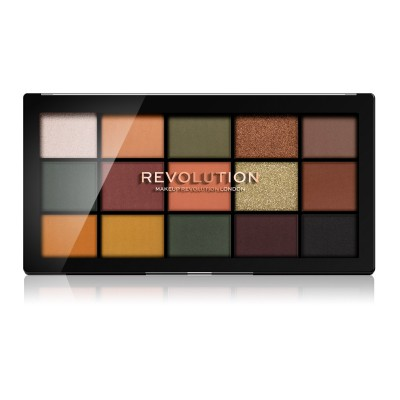 Makeup Revolution Paleta očných tieňov Re-Loaded Division