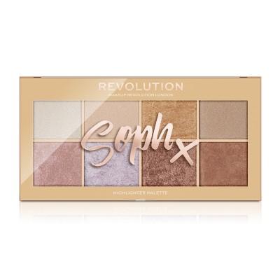 Makeup Revolution Paleta rozjasňovačov Soph X