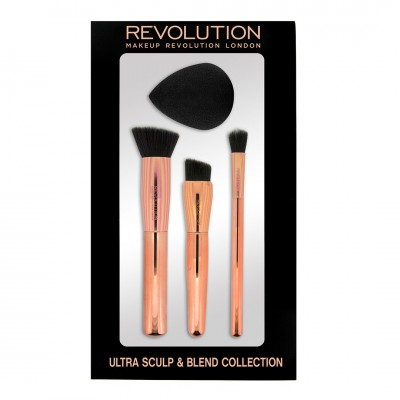 Makeup Revolution Sada štetcov Ultra Sculpt & Blend Collection