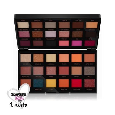 Makeup Revolution X Petra Paleta očních stínů