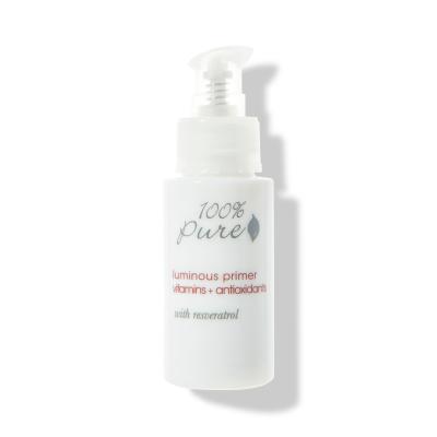 100% PURE Rozjasňujúca báza pod make-up s resveratrolom