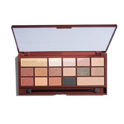 I♥Revolution Chocolate Eyeshadow Palette  24k Gold Paleta očných tieňov