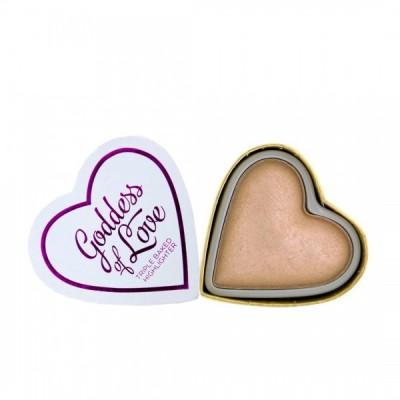 I♥Revolution Rozjasňovač Blushing Hearts Highlighter Goddess of Faith