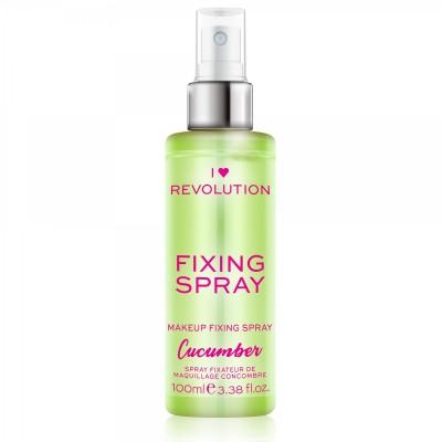I♥Revolution  Cucumber Fixačný sprej na make-up