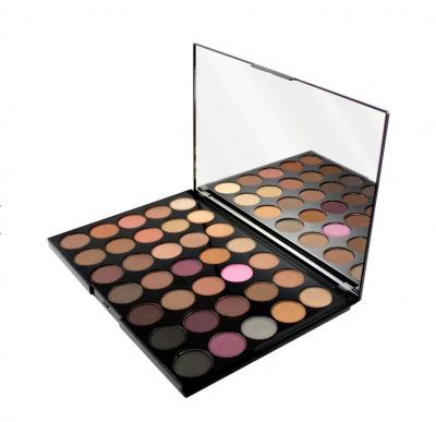 Makeup Revolution paleta očných tieňov Pro HD Palette Amplified 35 Neutrals Cool