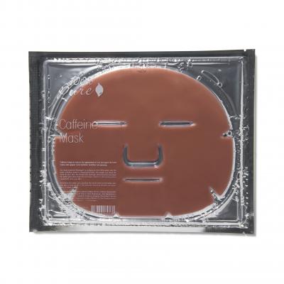 100% PURE Pleťová hydrogélová regeneračná maska z kofeínu