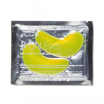 100% PURE Rozjasňujúca očná maska