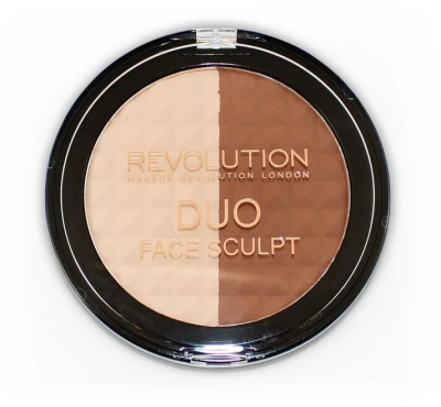 Makeup Revolution Kontúrovacia paletka Duo Face Sculpt