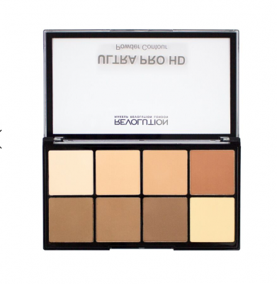 Makeup Revolution Paleta na kontúrovanie HD Pro Powder Contour