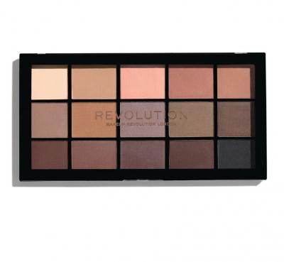 Makeup Revolution Paleta očních stínů Re-Loaded Palette Basic Mattes