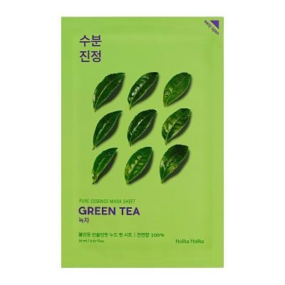 Holika Holika Hydratační maska Pure Essence, Zelený čaj