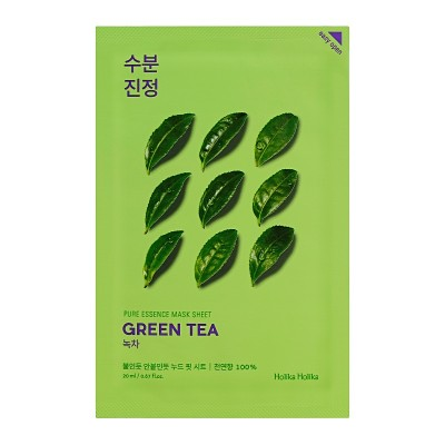 Holika Holika Hydratačná maska Pure Essence, Zelený čaj