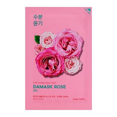 Holika Holika Hydratační maska na obličej s výtažkem z damašské růže Pure Essence