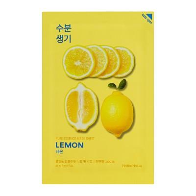 Holika Holika Tonizující maska na obličej s extraktem z citronu Pure Essence