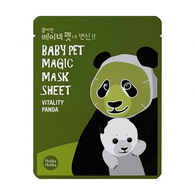 Holika Holika Maska na tvár Magic Baby Pet Vitality Panda  Vitality