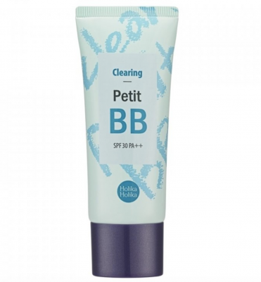 Holika Holika BB krém pre problematickú a mastnú pleť Clearing Petit BB Cream