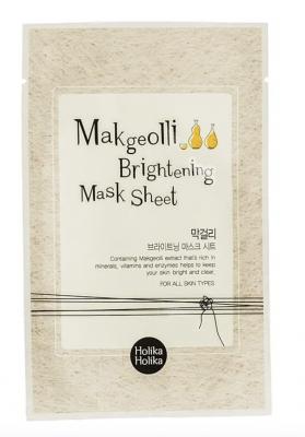 Holika Holika Rozjasňujúca Maska Makgeolli Brightening Mask Sheet