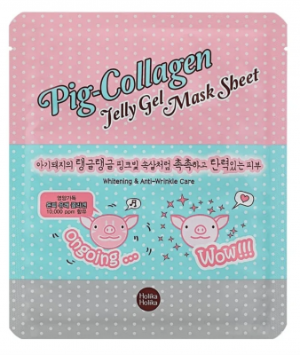 Holika Holika Nočná maska Pig Collagen Gel Mask