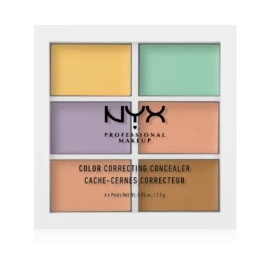 NYX profesional Makeup Paleta korektorov Conceal Correct Contour Color correcting