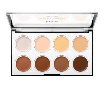NYX Professional Makeup Kontúrovacia paletka na tvár Highlight and Contour Cream Pro