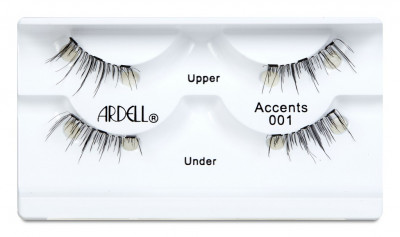 Magnetické řasy Ardell Accents 001 (S APLIKÁTOREM)