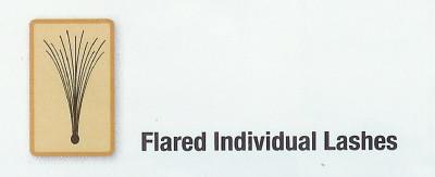 Trsové mihalnice Ardell Individuals Long ( s uzlíkom)