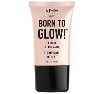 NYX Professional Makeup Tekutý rozjasňovač Born To Glow