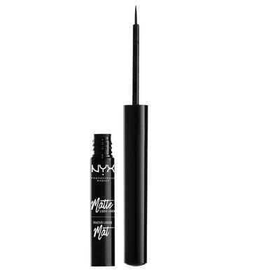 NYX Professional Makeup tekuté linky na oči s matným finišem Matte Liquid Liner