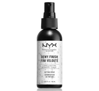 NYX Professional Makeup Fixačný sprej Dewy Finish