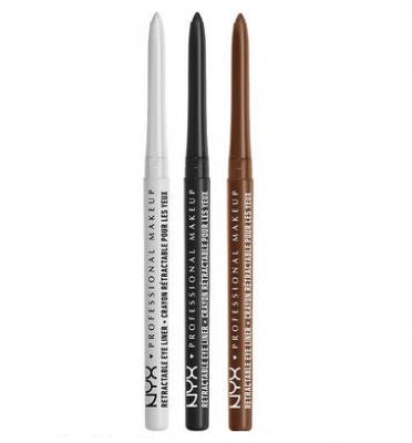 NYX Professional Makeup Krémová ceruzka na oči Retractable Eye Liner