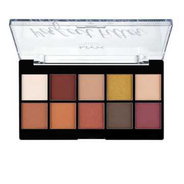 NYX Professional Makeup Paletka očních stínů Perfect filtr shadow Rustic Antique