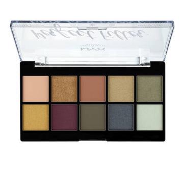NYX Professional Makeup Paleta očních stínů Perfect Filtr Shadow Olive You