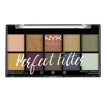NYX Professional Makeup Paleta očných tieňov Perfect Filter Shadow Olive You