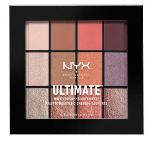 NYX Professional Makeup Paletka očních stínů Ultimate Multi-Finish Sugar High