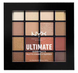 NYX Professional Makeup Paletka očných tieňov Ultimate Shadow Warm Neutrals