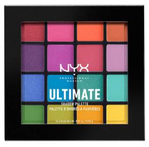 NYX Professional Makeup Paletka očných tieňov Ultimate Shadow Brights
