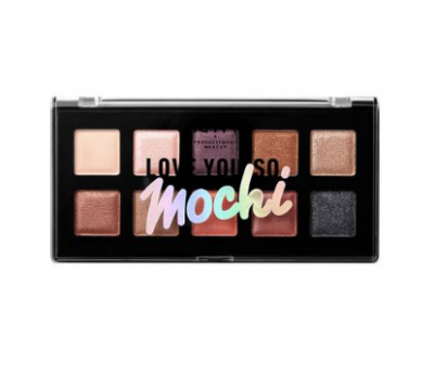 NYX Professional Makeup Paletka očných tieňov Love You So Mochi Sleek and Chic