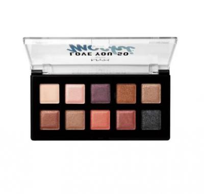 NYX Professional Makeup Paletka očních stínů Love You So mochi Sleek and Chic