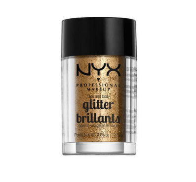 NYX Professional Makeup Glitre na tvár a telo Face and Body Glitter