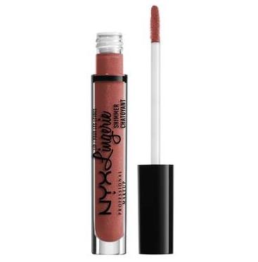 NYX Professional Makeup Trblietavý lesk na pery Lip Lingerie Shimmer