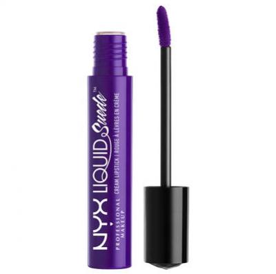 NYX Professional Makeup Tekutá voděodolná rtěnka s matným finišem Liquid Suede Cream