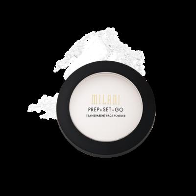 Milani Transparentný púder PREP + SET + GO