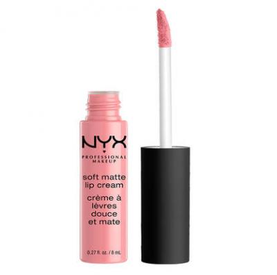 NYX Professional Makeup tekutá rtěnka s matným finišem Soft Matte Lip Cream